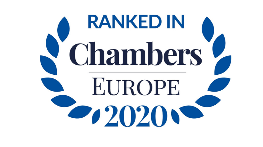 Kancelaria Fairfield wyróżniona przez Chambers Europe 2020